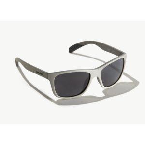 Bajio Gates Sunglasses Basalt Matte Grey Poly Front Side