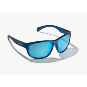 Bajio Scuch Sunglasses Blue Vin Matte Blue Poly Front Side
