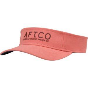 Aftco Aquarius Visor Coral Front