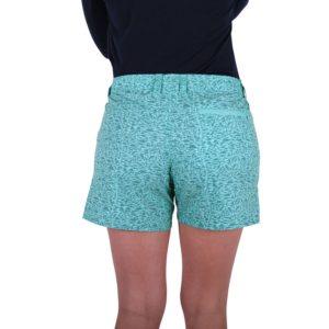 Aftco Captains Lounge Shorts Mint Back