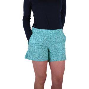 Aftco Captains Lounge Shorts Mint Front