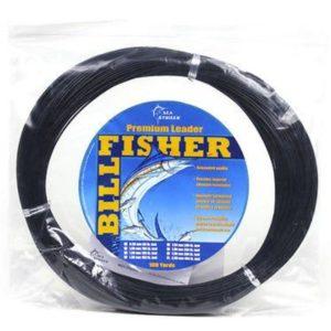 Billfisher Monofilament Leader Coil Black