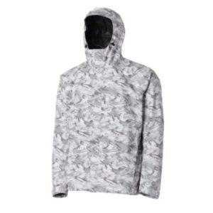 Grundens Charter Gore-Tex Jacket Refraction Camo Glacier Front Side