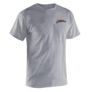 Grundens Classic Billfish T-Shirt Heather Grey Front
