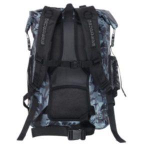 Grundens Rumrunner Backpack Refraction Camo Dark Slate 30L Back