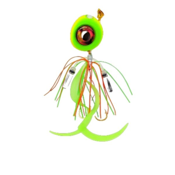 Jyg Pro Eyedrop Collection Jigs Lime
