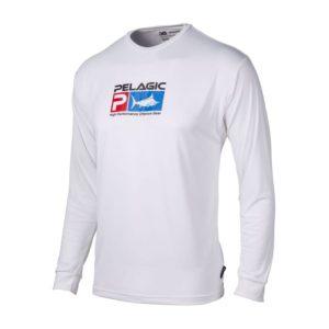 Pelagic Kids Aquatek Icon White Front