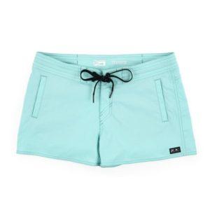 Pelagic Traverse Hybrid Fishing Shorts Turquoise Front