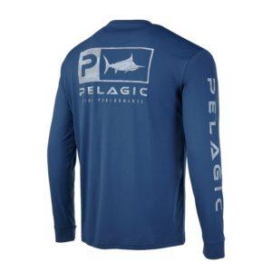 Pelagic Youth Aquatek Icon Smokey Blue Back