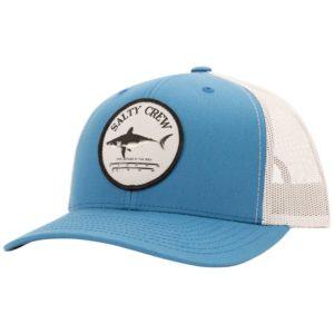 Salty Crew Bruce Retro Trucker Hat Slate Silver
