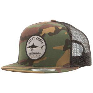 Salty Crew Bruce Trucker Hat Camo