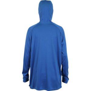 Aftco Jason Christie Hoodie Long Sleeve Nautical Blue Back