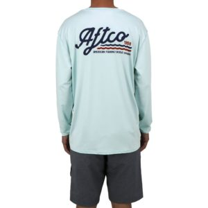 Aftco Sonic Long Sleeve Performance Mist Lifestyle