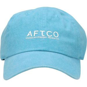 Aftco Washout Hat Teal Front