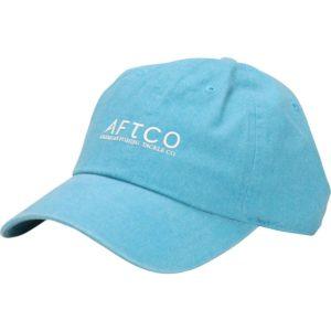 Aftco Washout Hat Teal Front Side