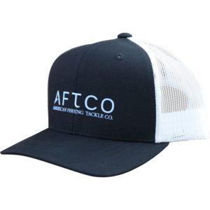Aftco Youth Samurai Trucker Hat Black Front