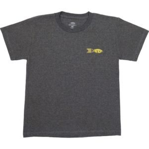 Aftco Youth Spicy Tuna Roll Tee Charcoal Heather Front