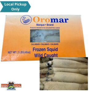 Bait White Cal. Squid Omomar 5lb New